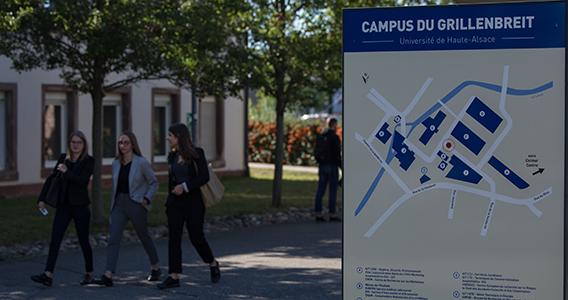 Visiter les 5 campus de Mulhouse et Colmar