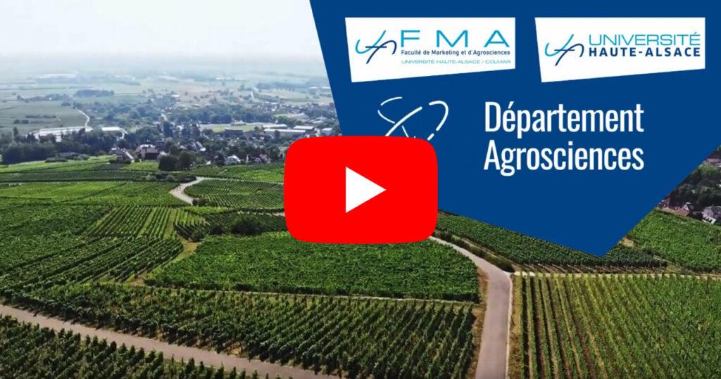 Département Agrosciences - FMA